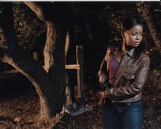 "P94ET ERICA TAZEL SIGNED ""JUSTIFIED"" SIGNED 10X8 PHOTO GUARANTEED AUTHENTIC …"